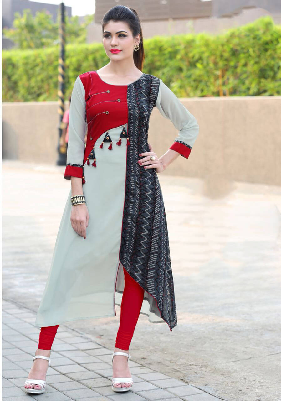 Long Sleeve Kurtis Manufacturers